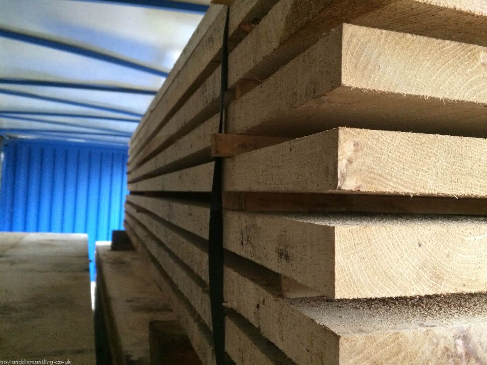 first image for Air dried oak boards