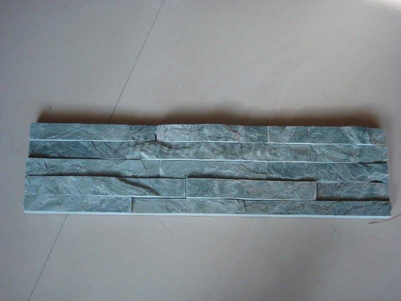 Image for Green split face slate mosaic tiles, promotion item