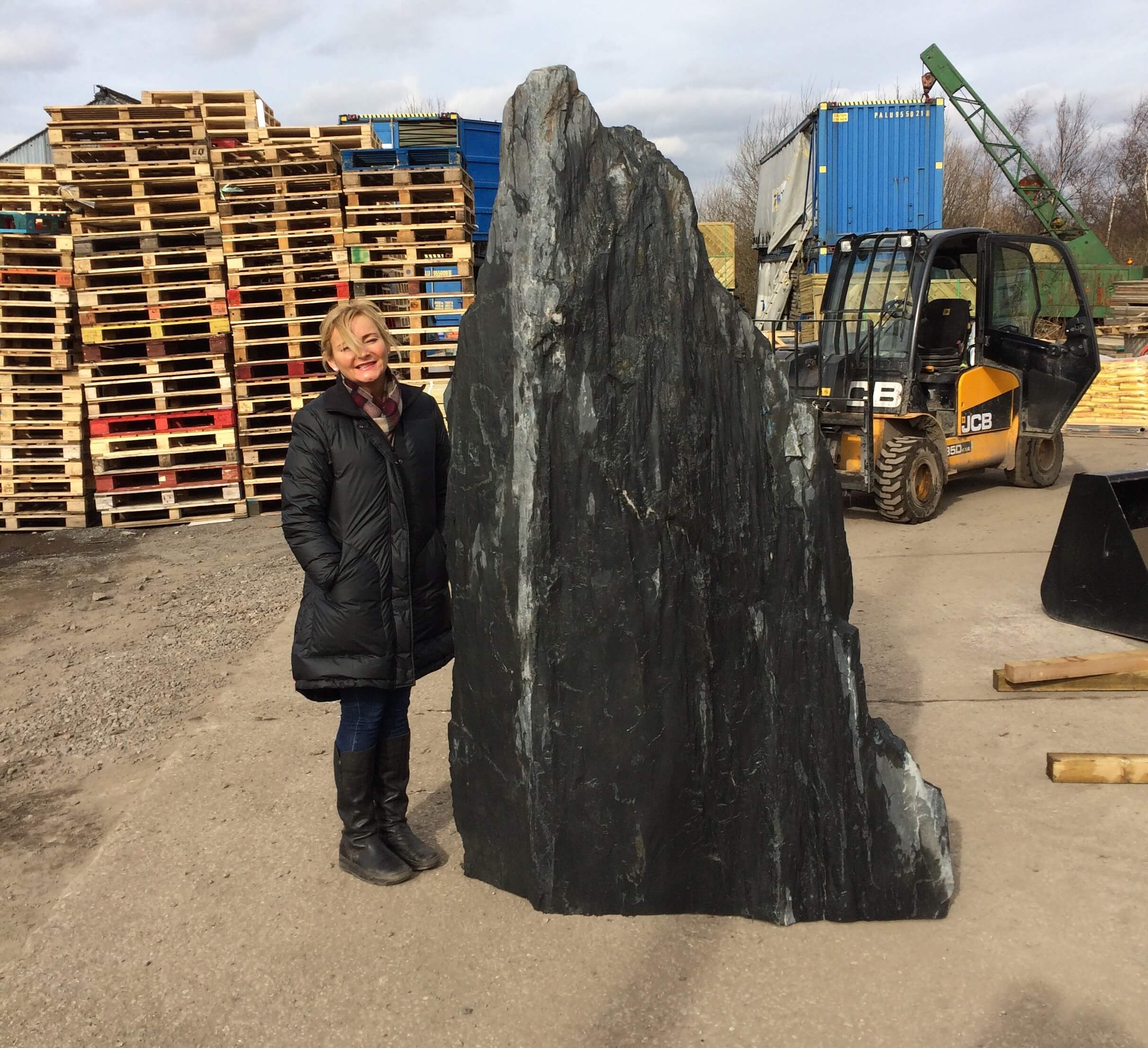 Image for 2.35m Slate monolith (M2)