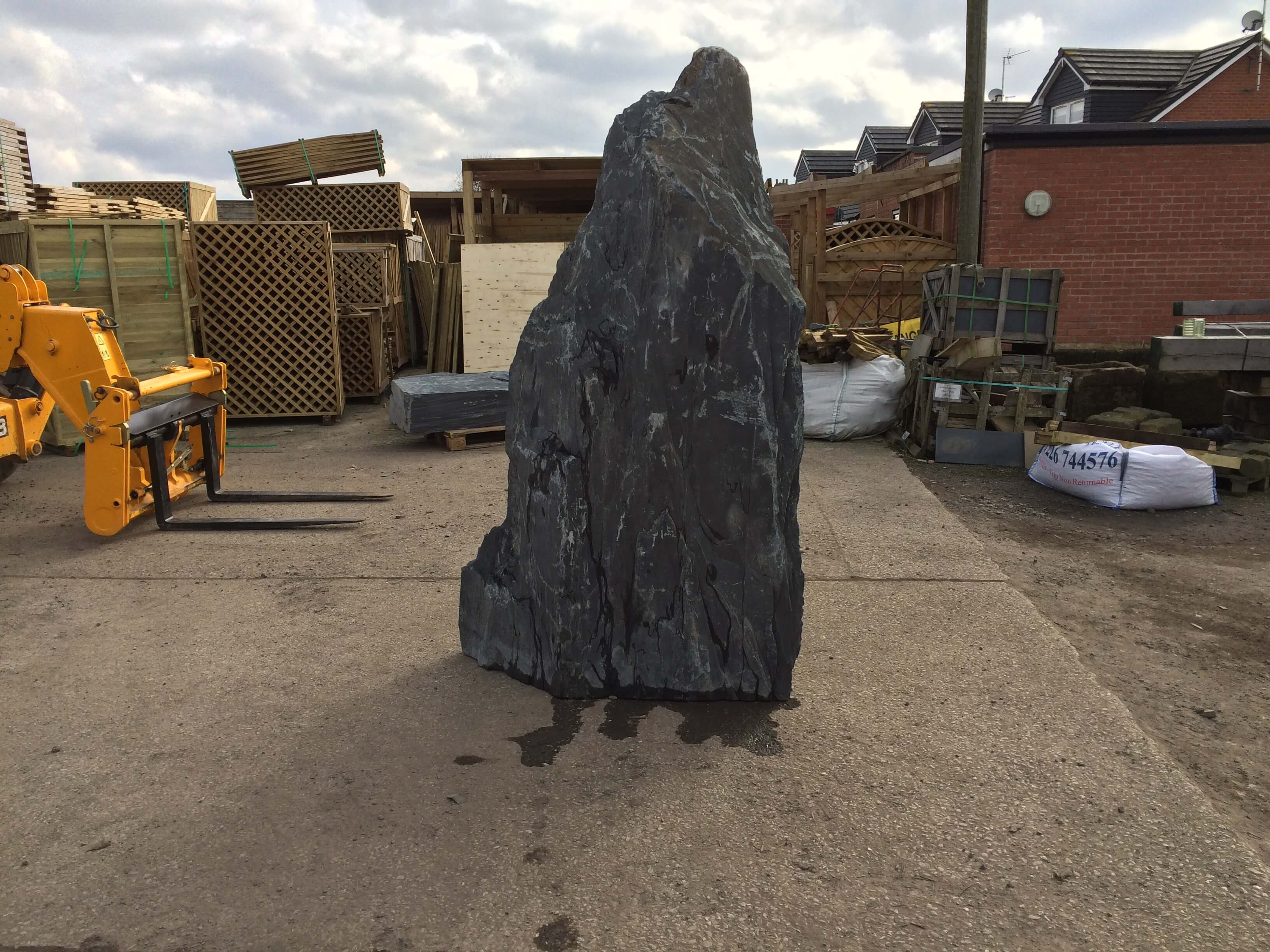 Third image for 2.35m Slate monolith (M2)