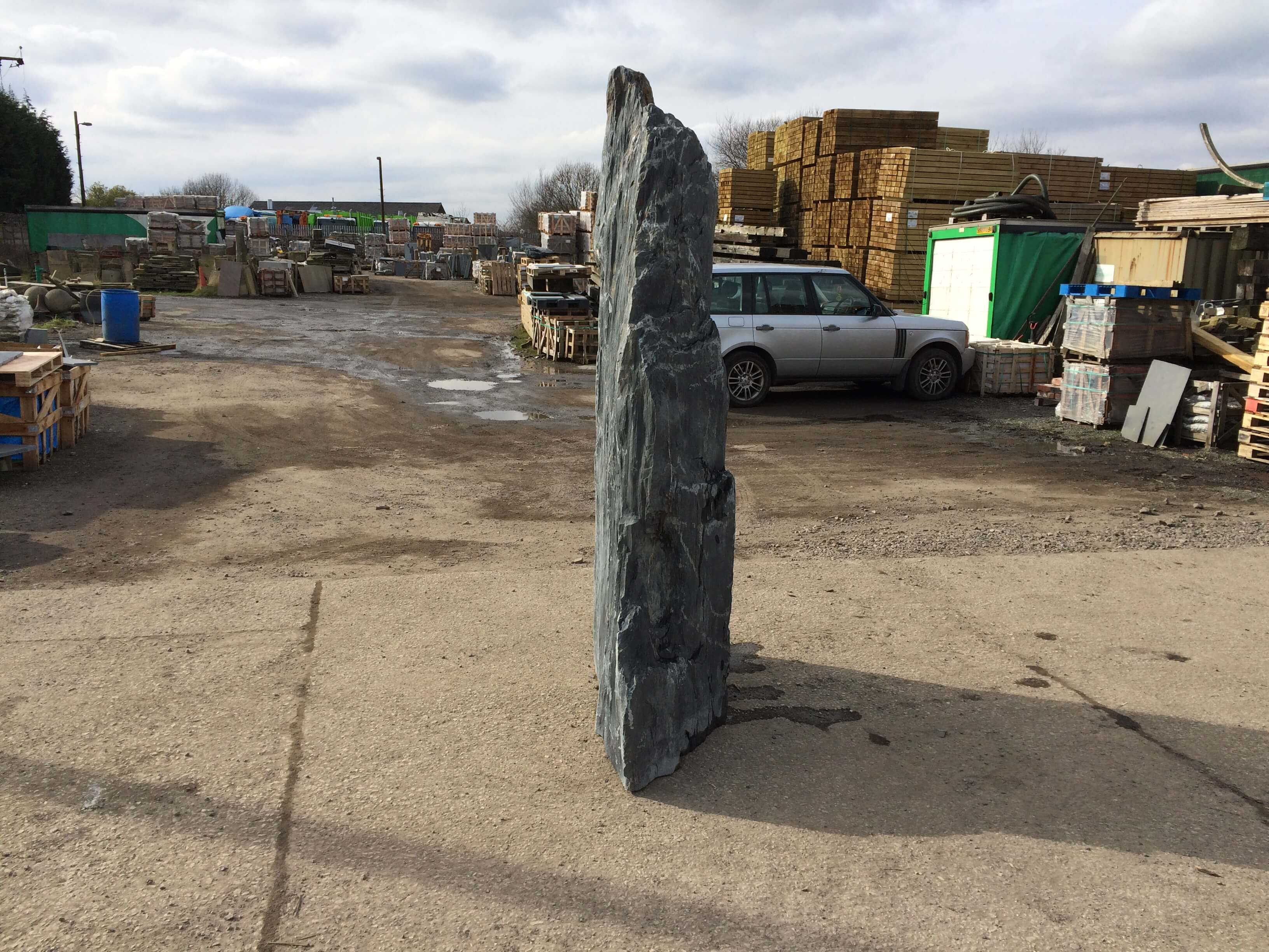 Sixth image for 2.35m Slate monolith (M2)