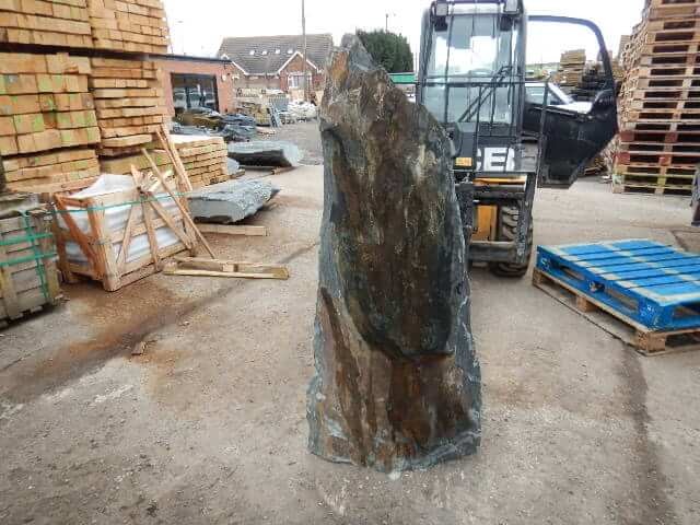 Fourth image for 1.6m Slate Monolith (M9)