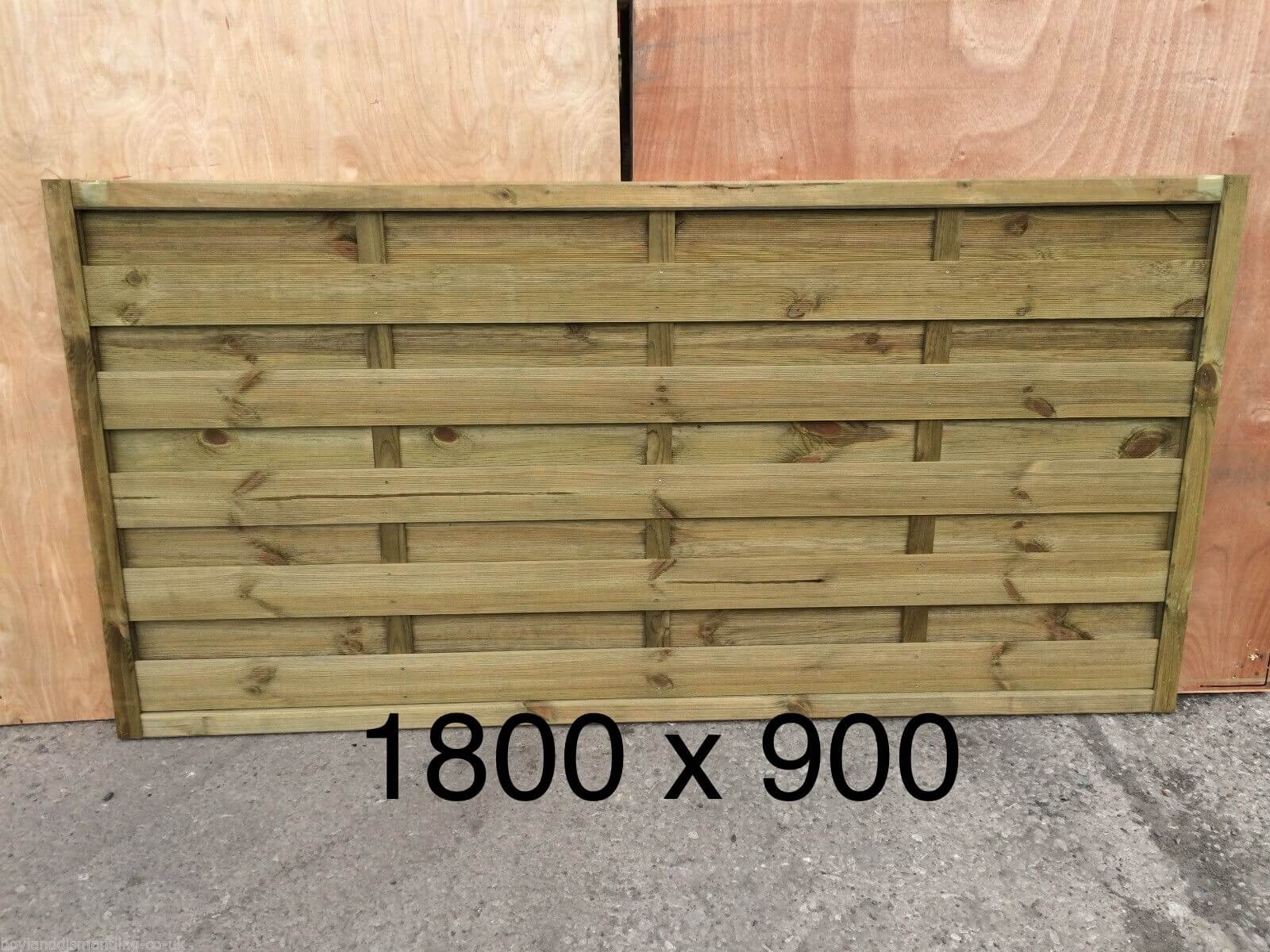 Third image for Milano Fence panel