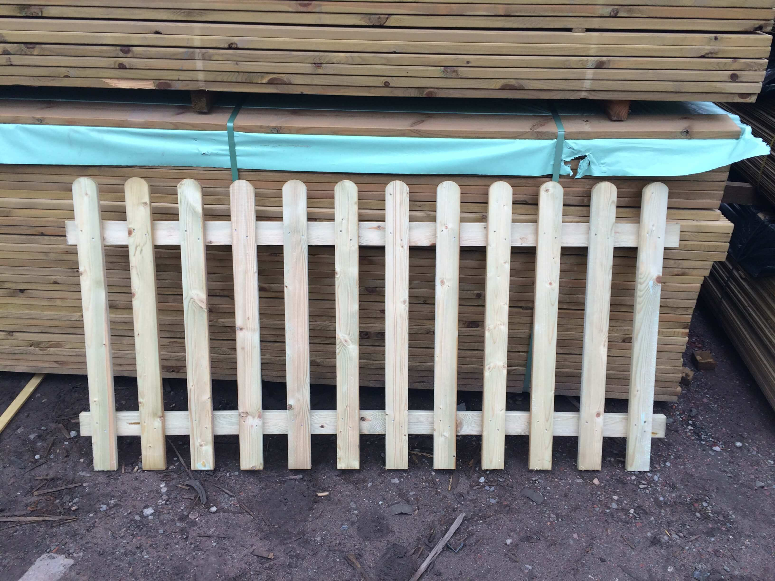 first image for Garden Picket fence panel