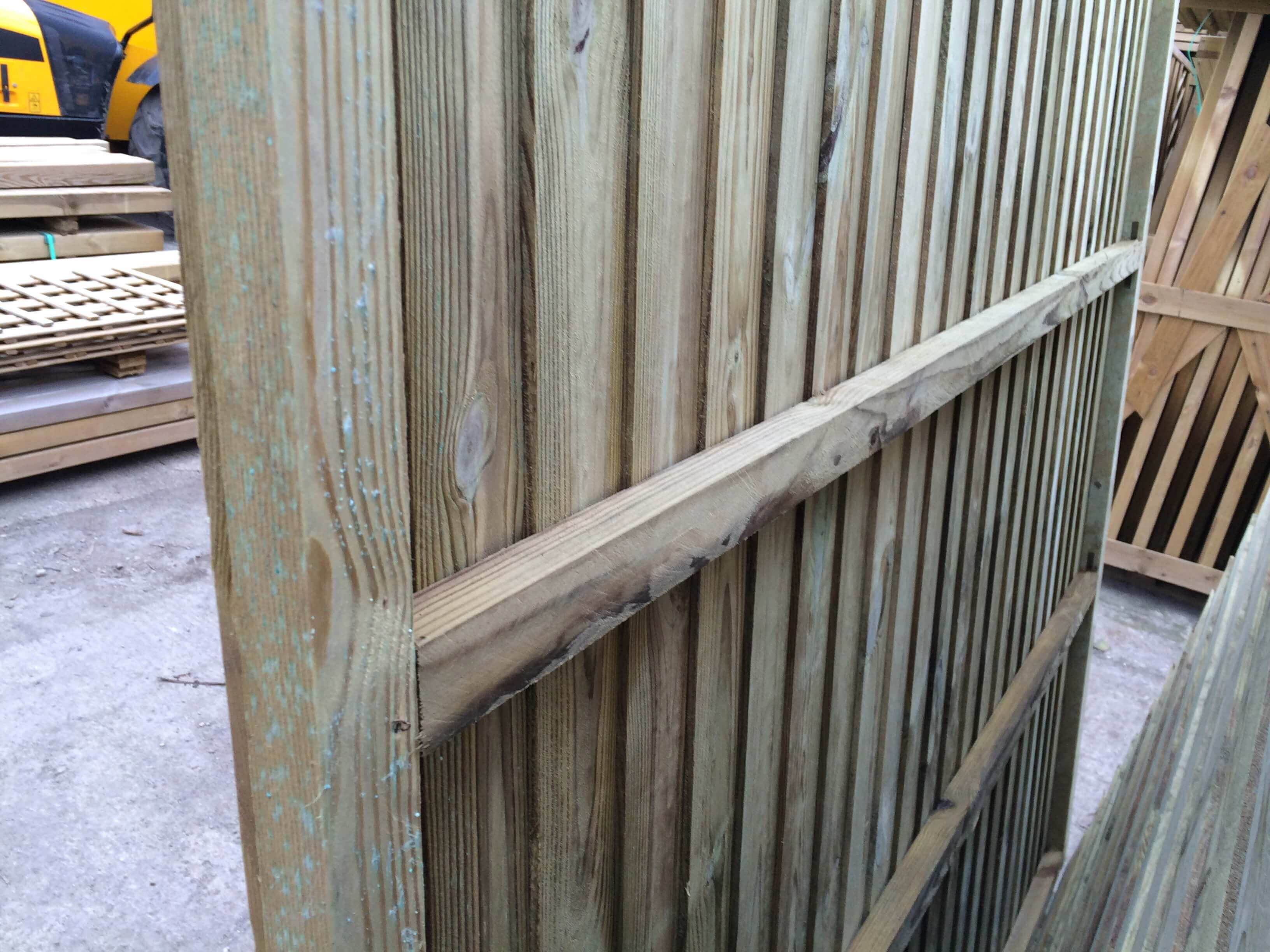 Second image for Heavy Duty Vertilap close boarded fence panel