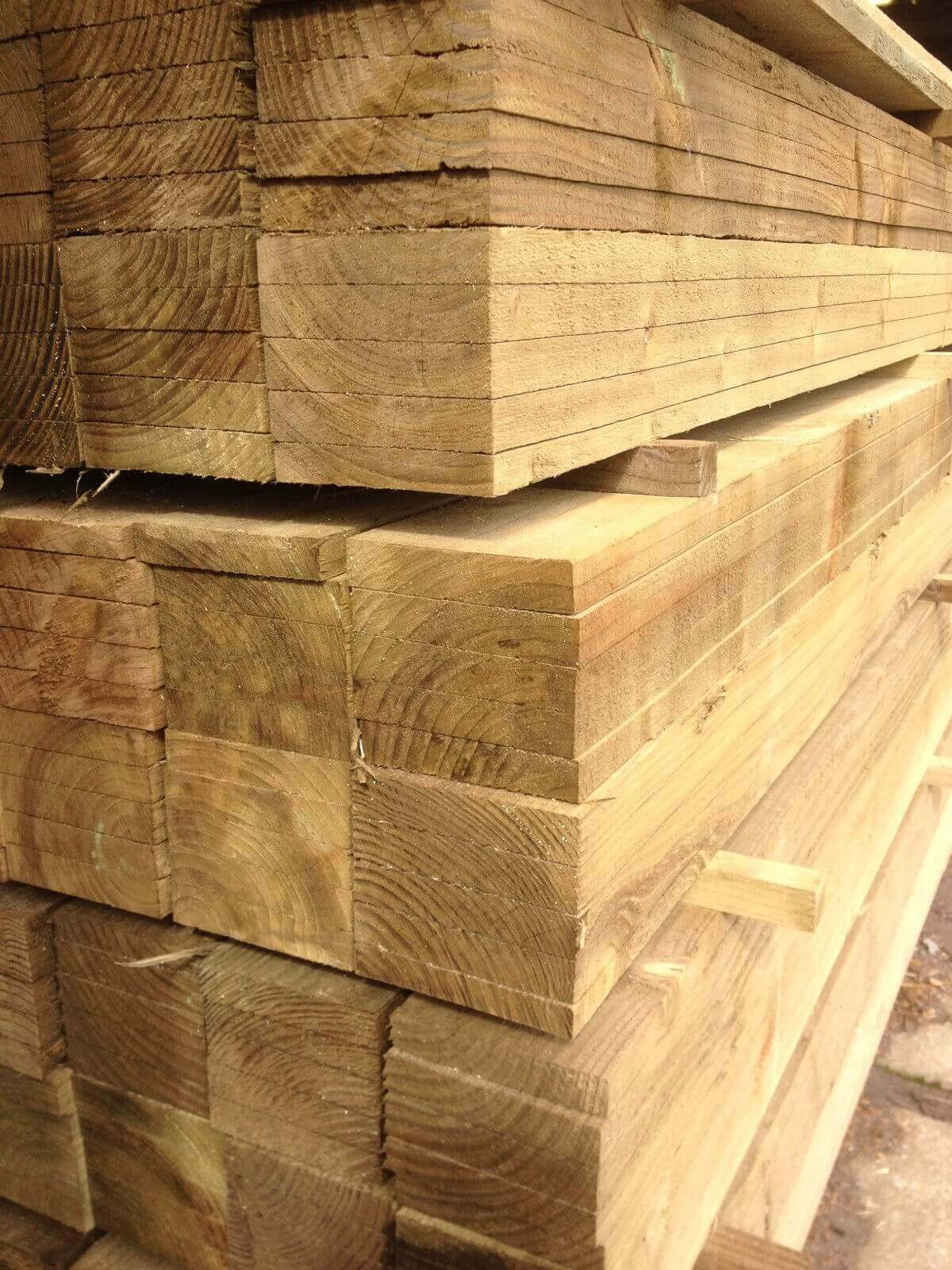 first image for Treated timber board 100x22