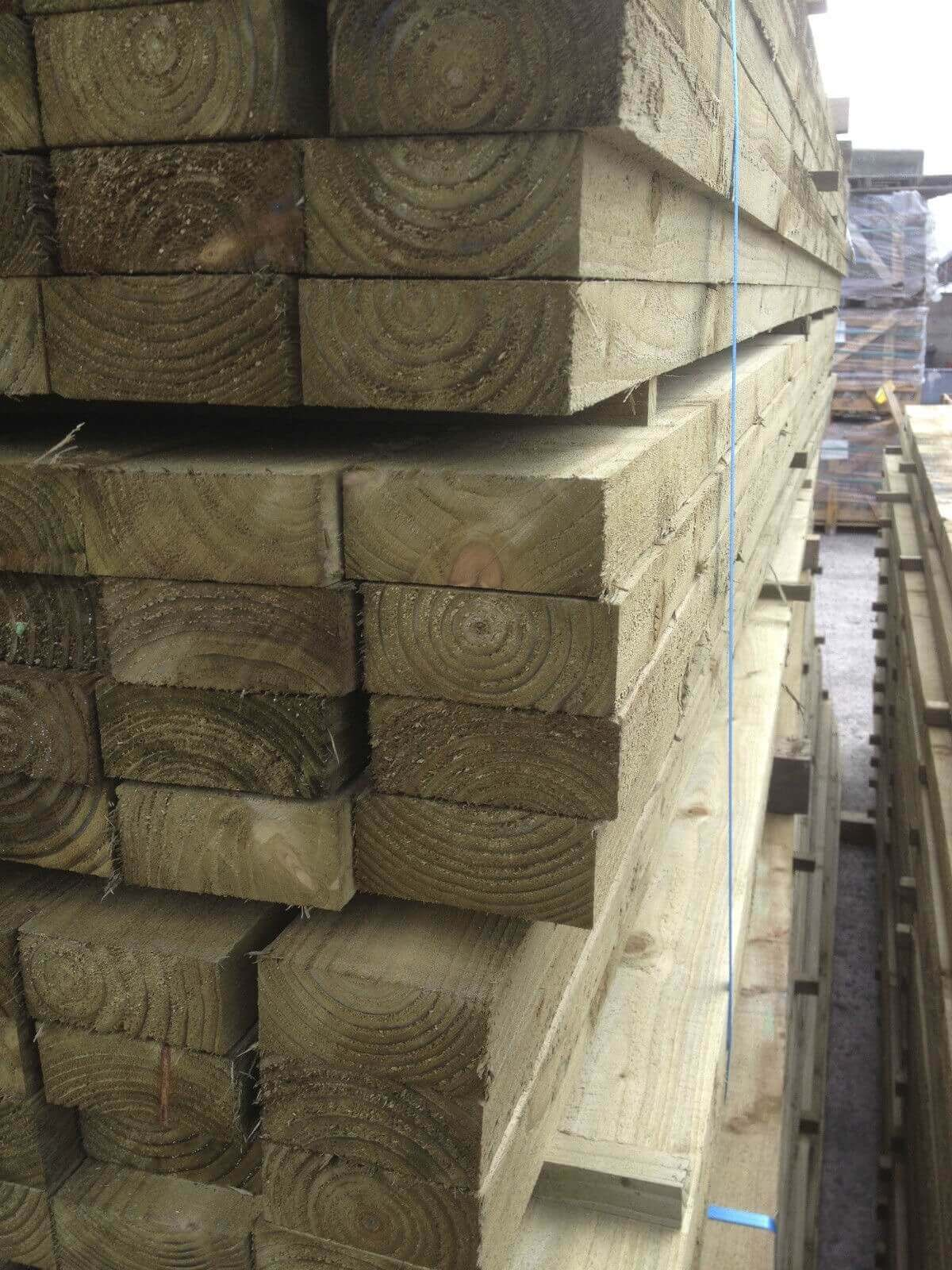 first image for Treated timber joist 75x47