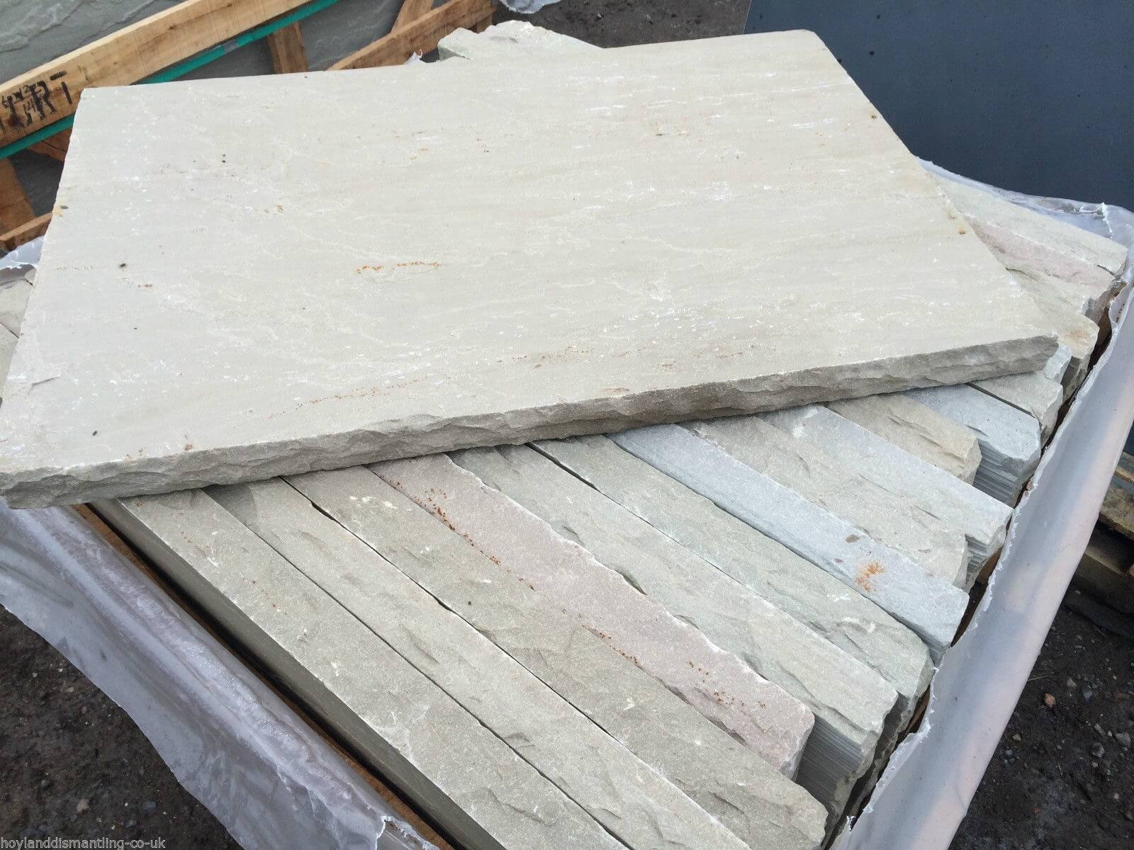 Fourth image for Natural Sandstone Hearth 50mm Thickness