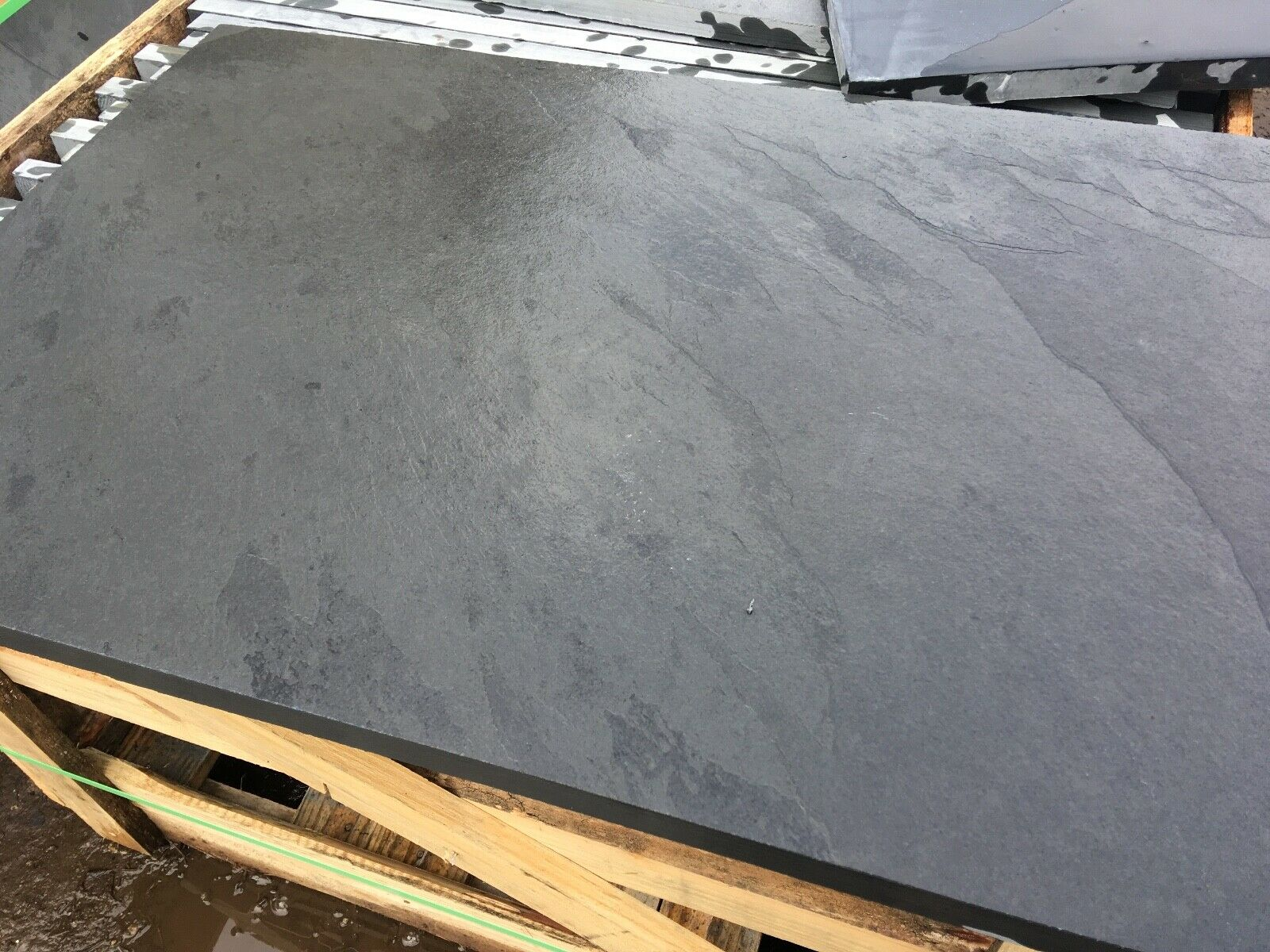 Third image for Natural riven Brazilian Slate Slabs