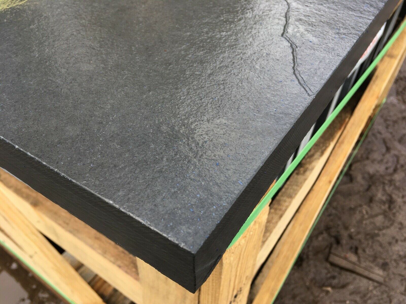 first image for Natural riven Brazilian Slate Slabs