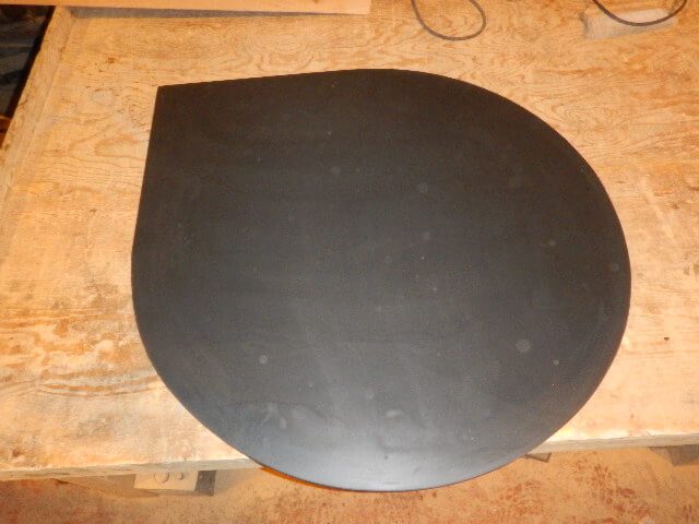 Fifth image for Slate teardrop corner hearth