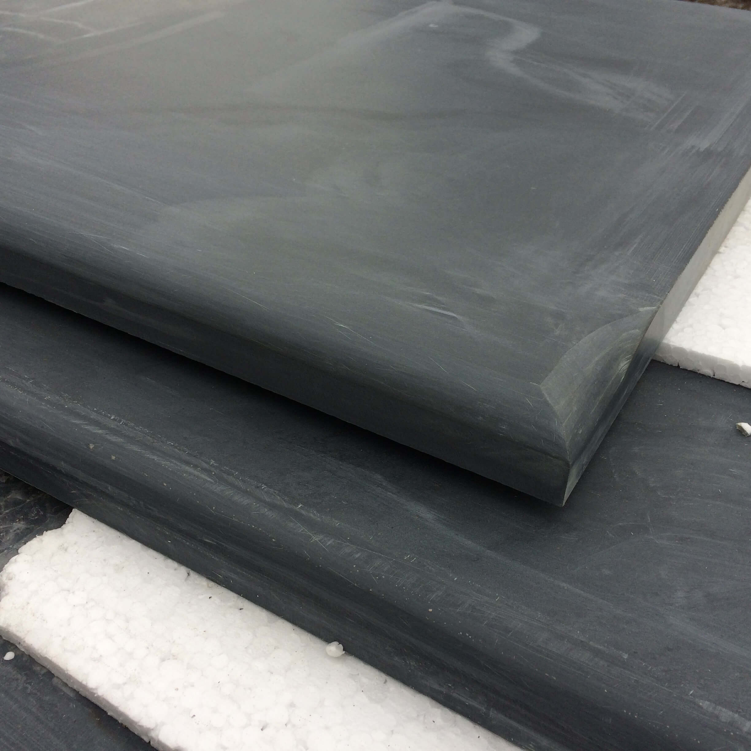 first image for Bespoke Honed Slate Hearth Stones