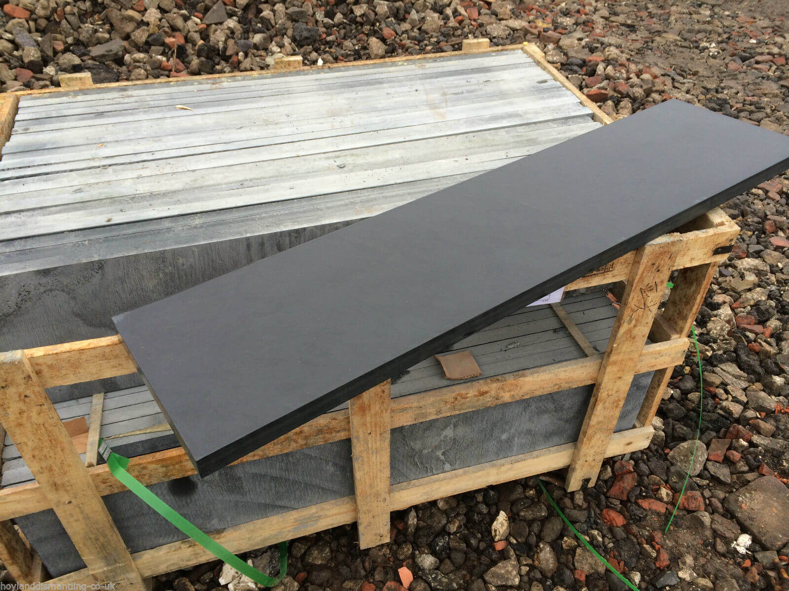 first image for Honed slate Slabs