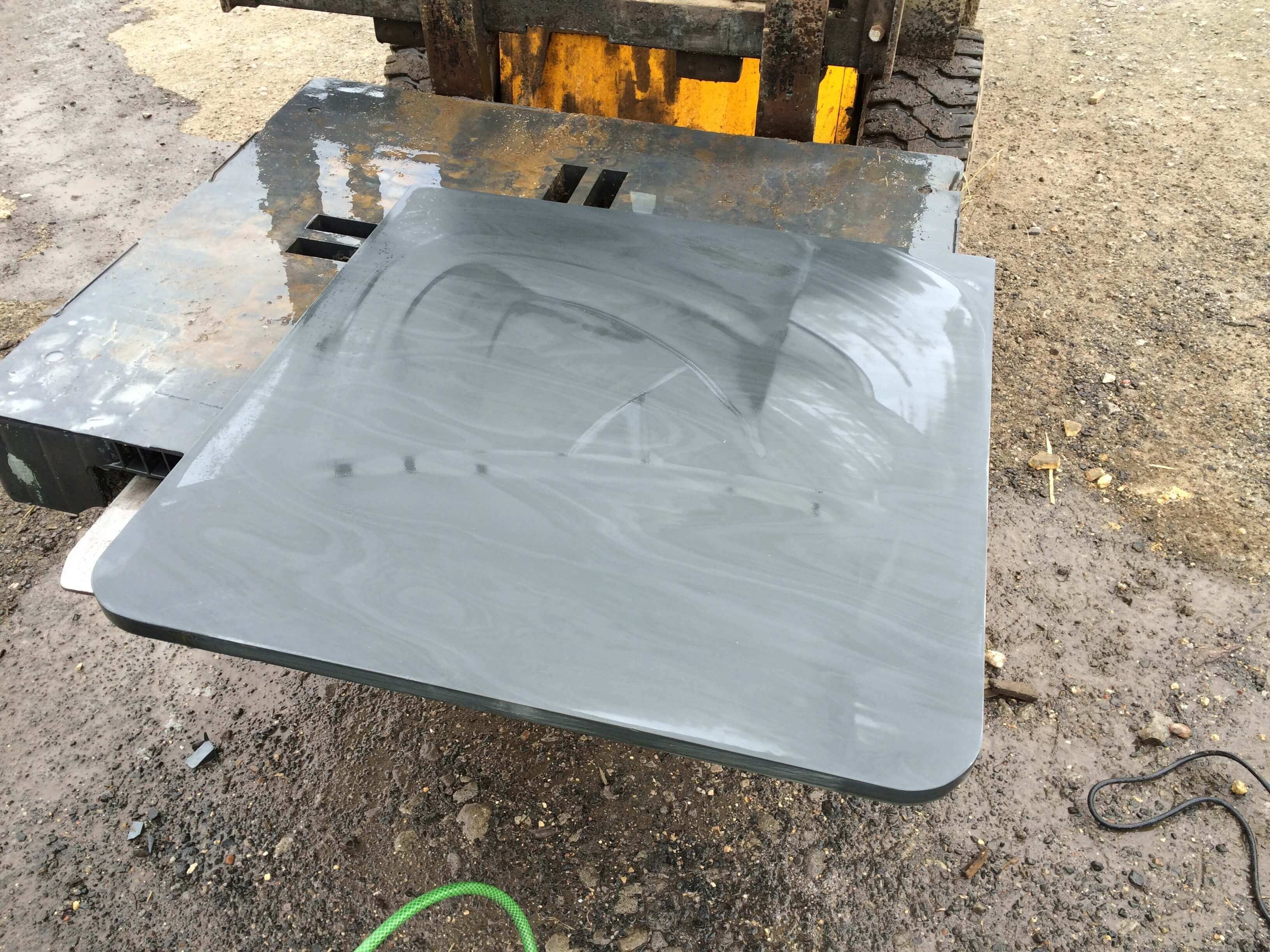 Sixth image for Bespoke Honed Slate Hearth Stones