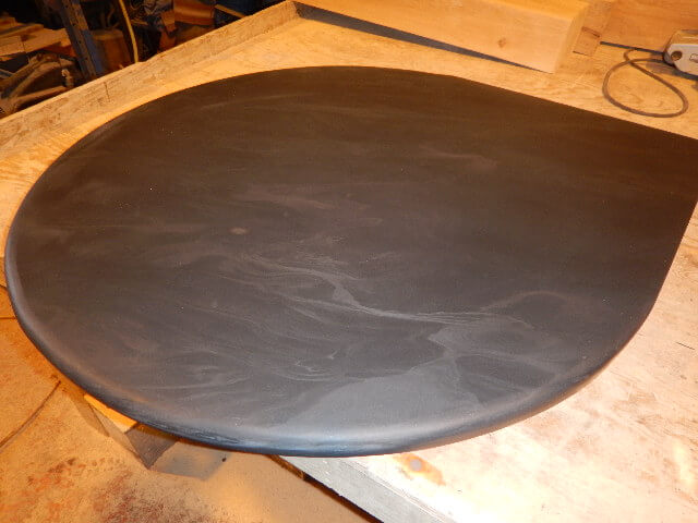 first image for Slate teardrop corner hearth