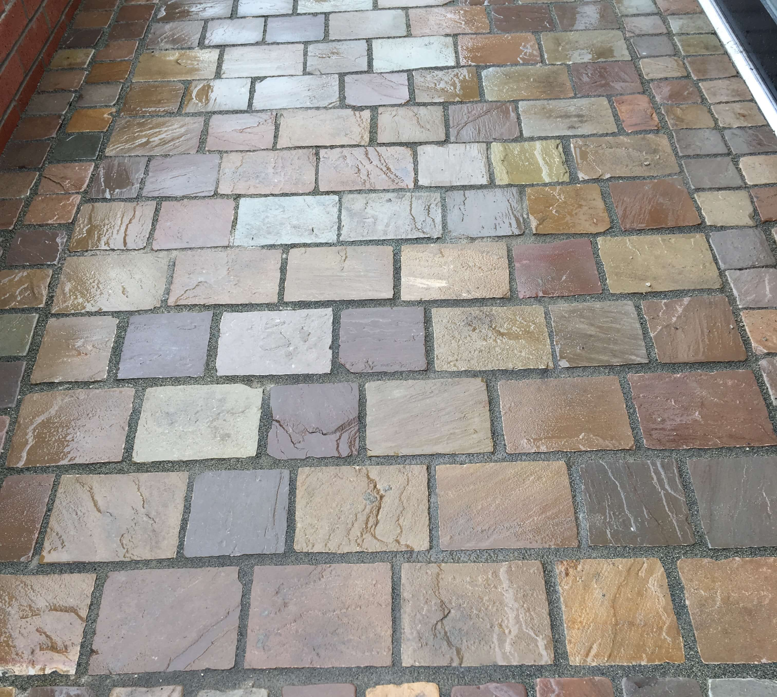 first image for Natural Stone Cobble Sett