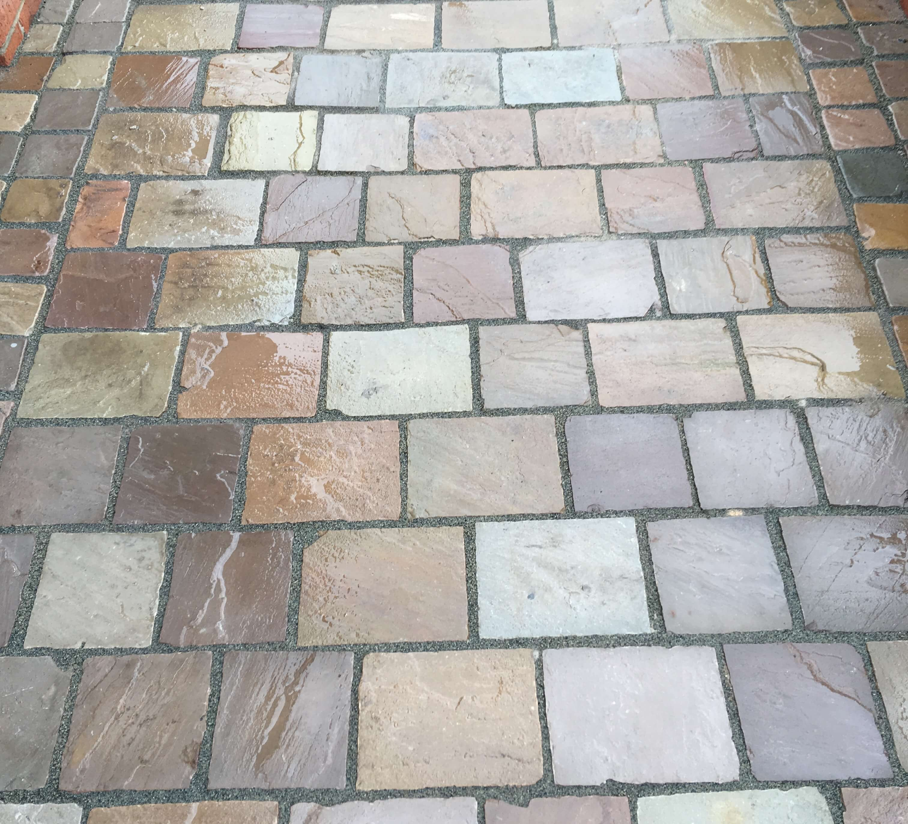Third image for Natural Stone Cobble Sett