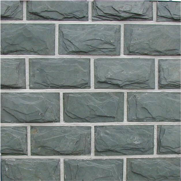 first image for Green mushroom slate wall cladding