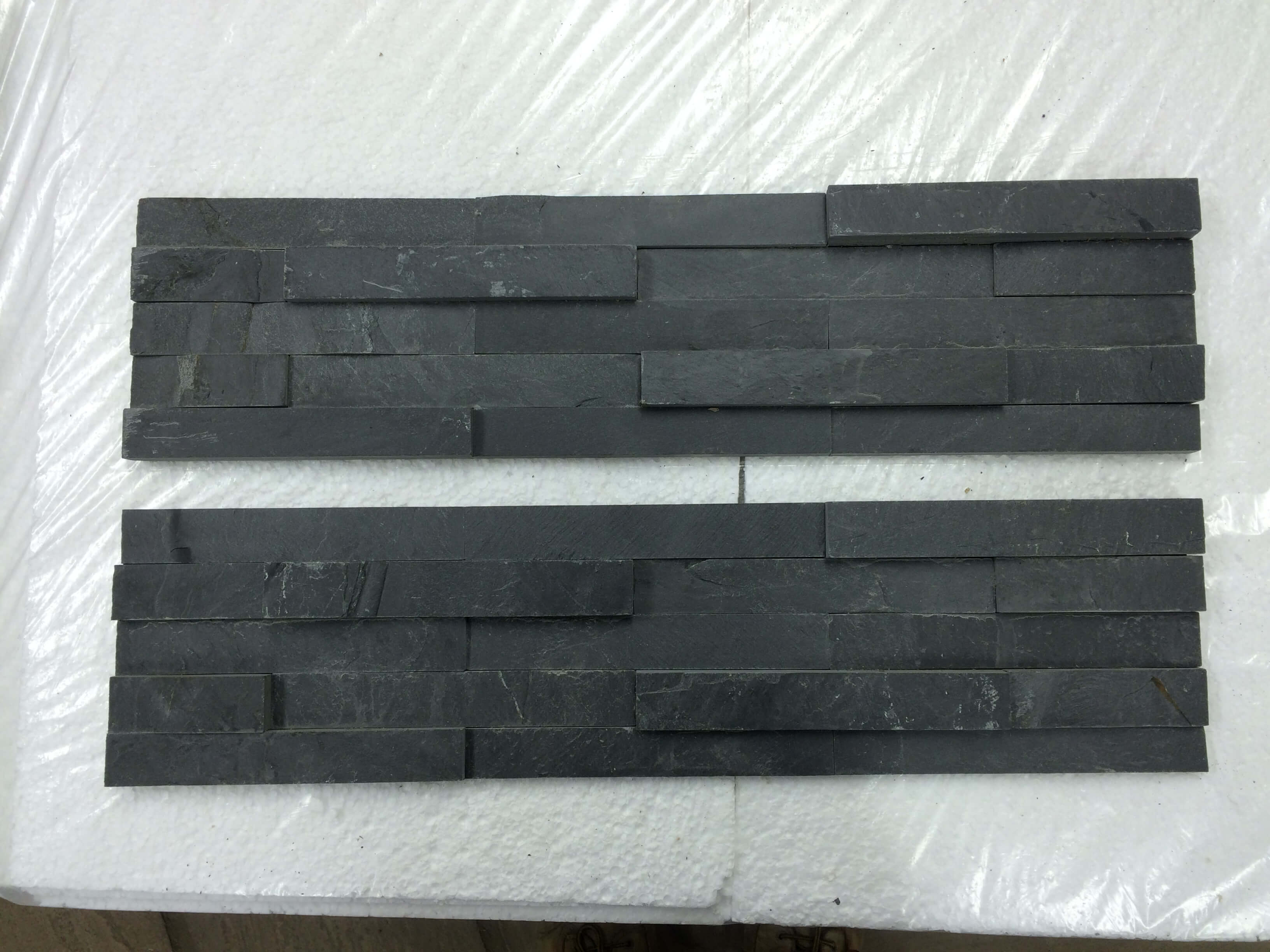 Third image for Split face stack slate - Blue/black