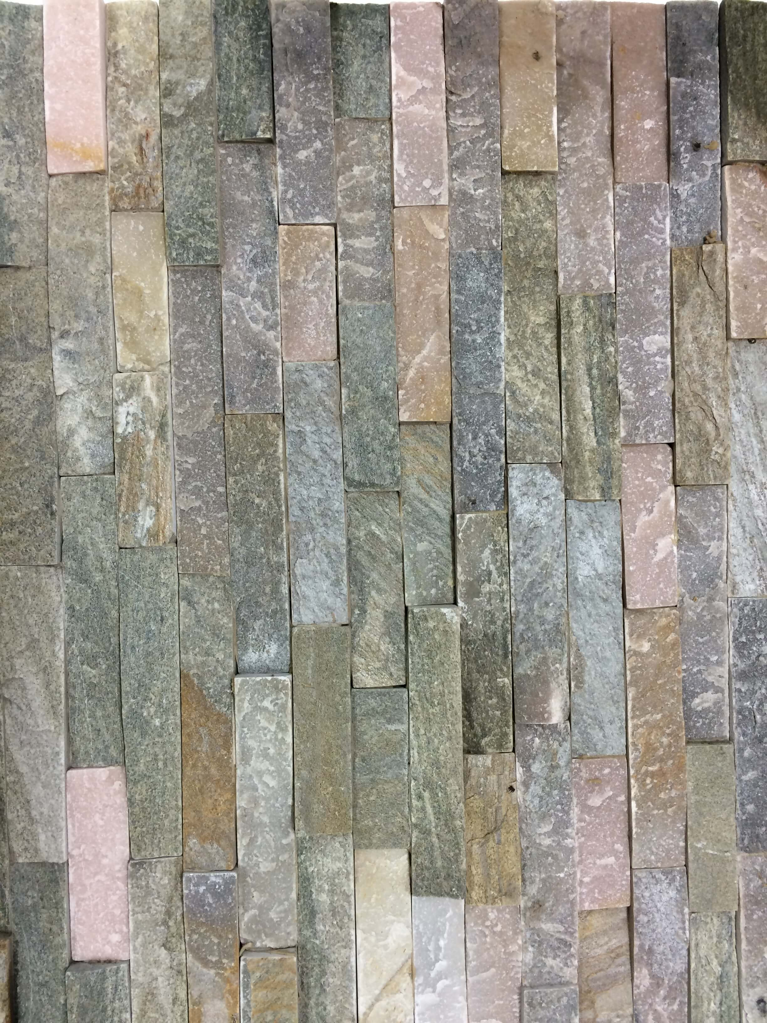 Image for Wood yellow multi stack tile