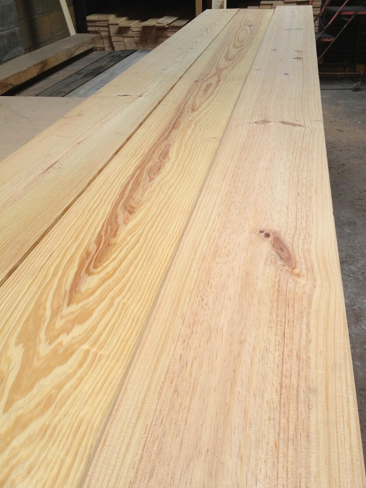 first image for New pitch pine flooring