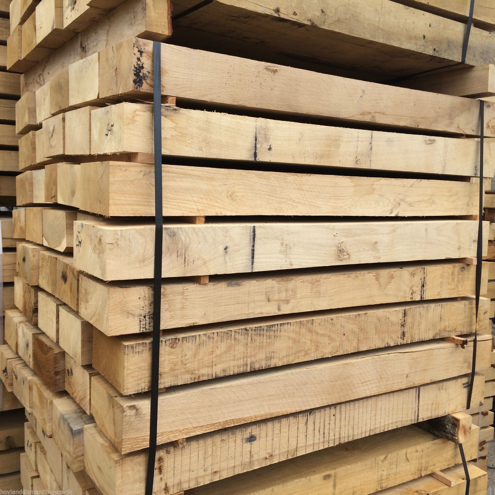 first image for New French Oak sleepers (1.2m)