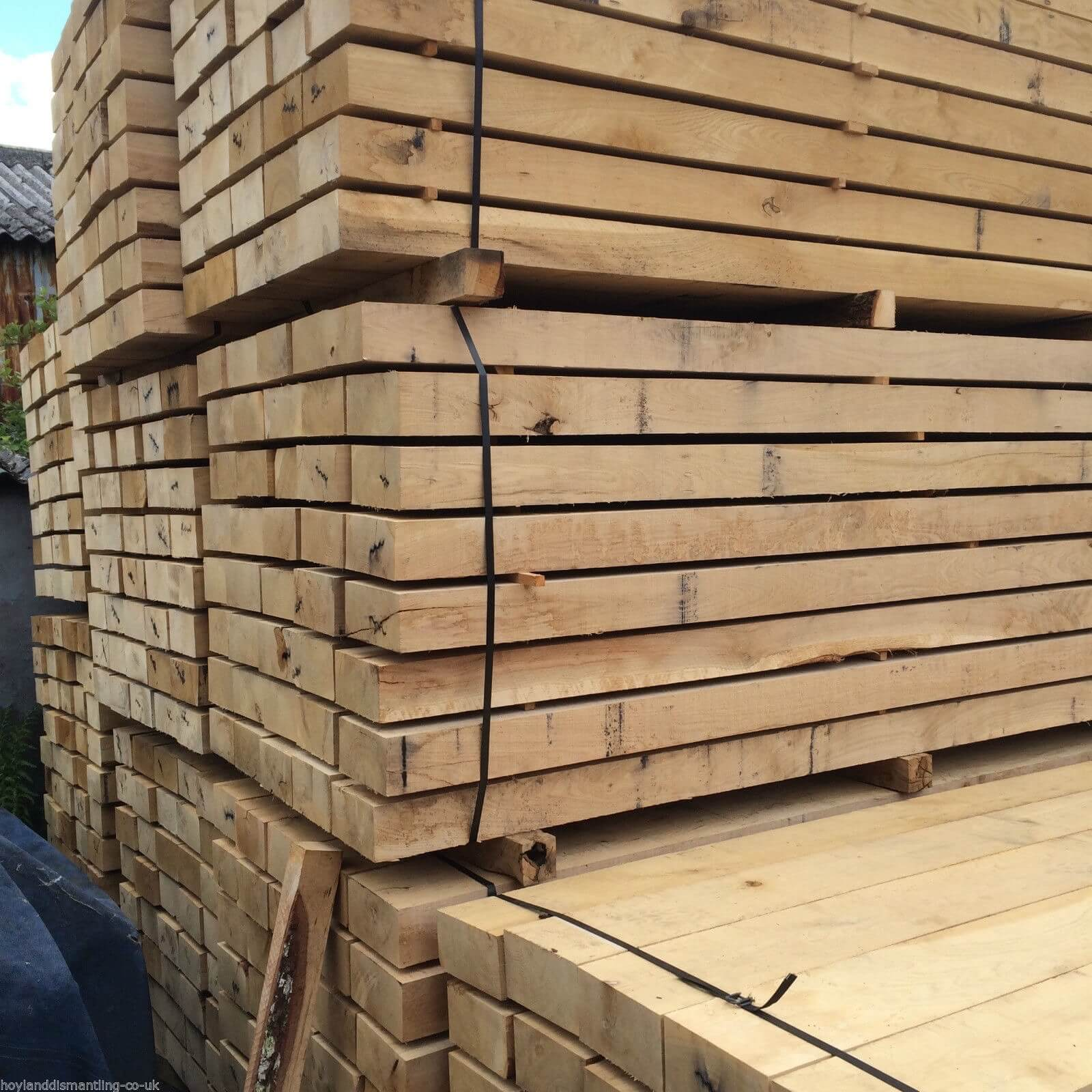 first image for New French Oak sleepers (2.4m)