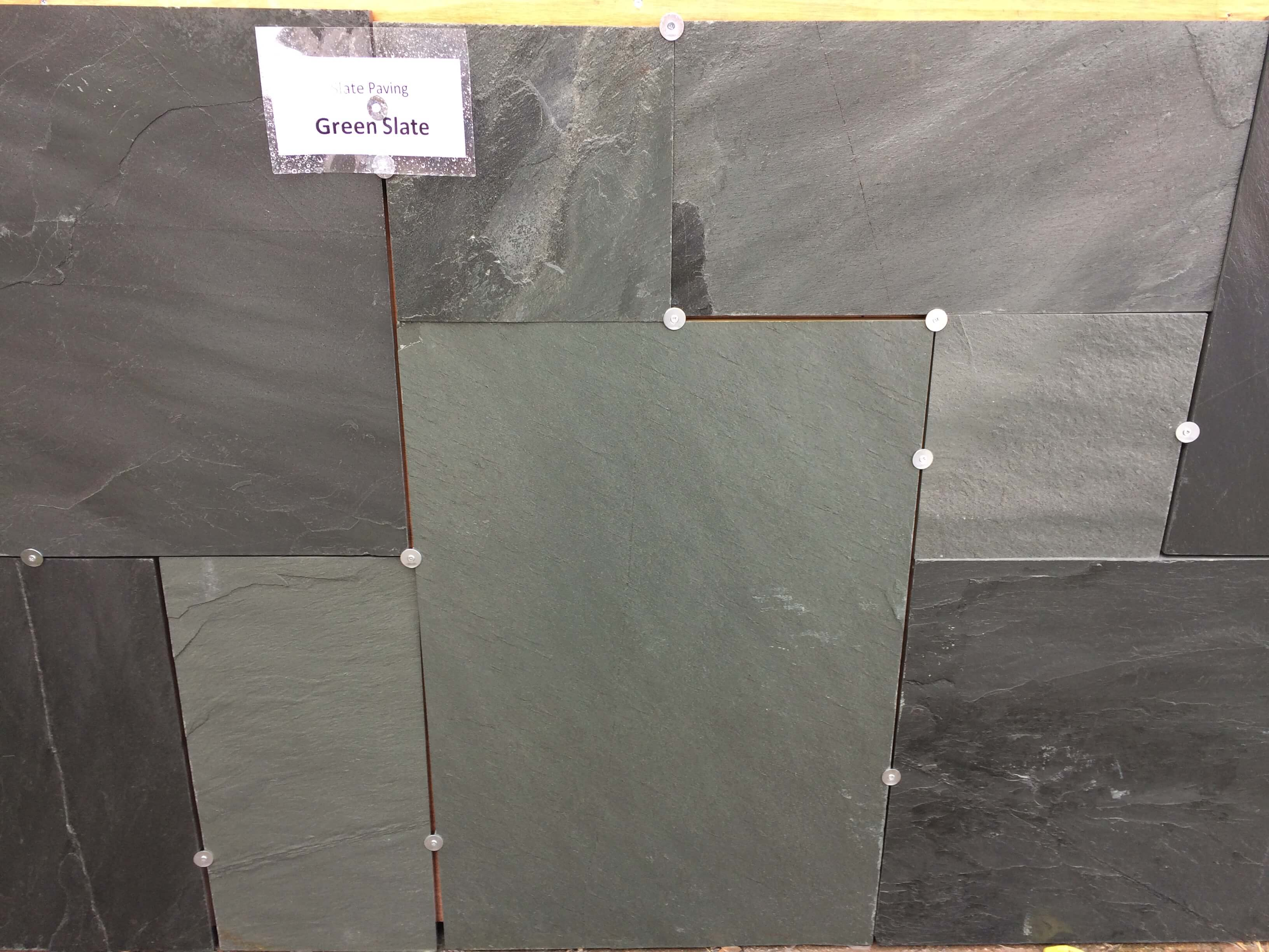 Second image for Green slate paving