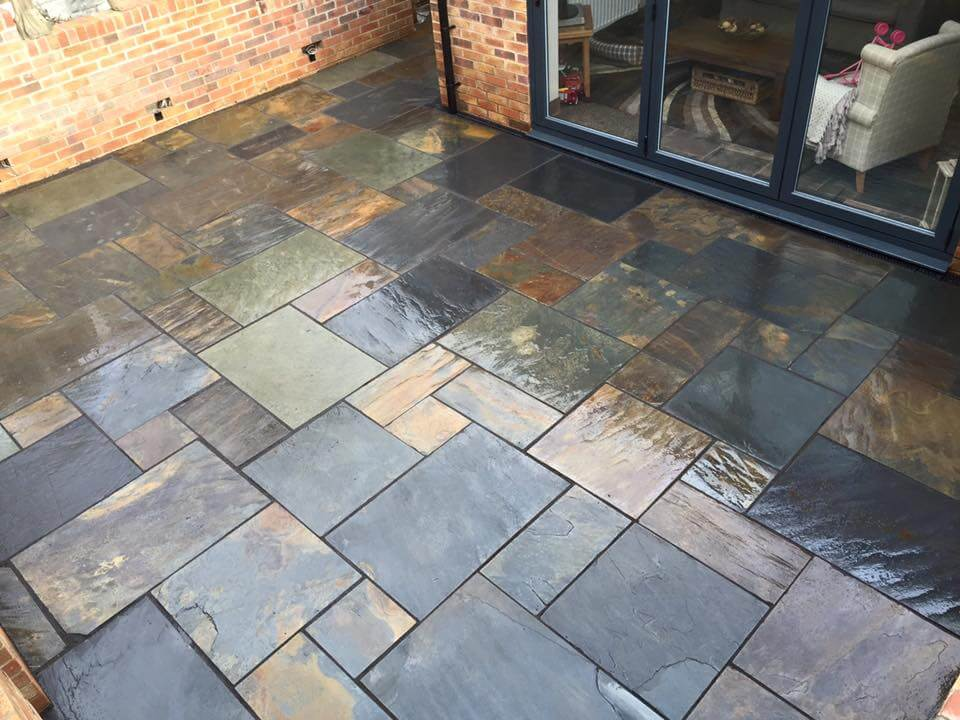 Second image for Rustic-Multi random Slate Paving